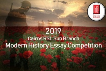 Cairns RSL Sub Branch Modern History Essay Competition 2019