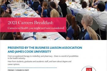 JCU Careers in Health Breakfast