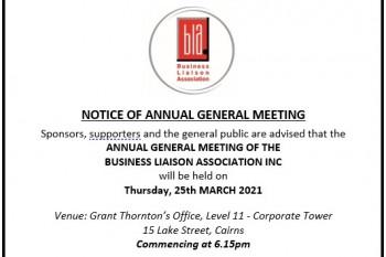 2021 Business Liaison Association AGM