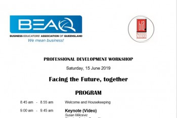 BEAQ Professional Development Workshop